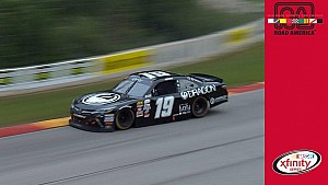 Tifft reacts to late contact with Clements at Road America