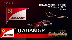 Grand Prix de Italia - Scuderia Ferrari 2017