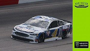 Kevin Harvick discusses pole-winning lap at Darlington