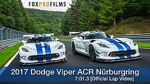 2017 Dodge Viper ACR Nürburgring 7.01.3