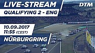 Live: Qualifying (Race 2) - DTM Nürburgring 2017