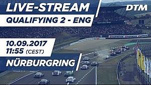 Live: Qualifying (Race 2) - DTM Nürburgring 2017