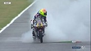 Moto3: Selebrasi kemenangan Fenati