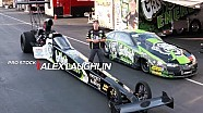Alex Laughlin races two NHRA categories in Indy