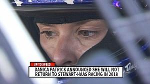 Danica Patrick will not return to Stewart-Haas Racing in 2018