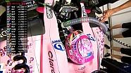 2017 Singapur GP FP3 - Canlı Yayın Kazası