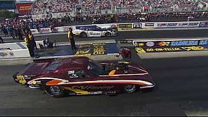 Chuck Little takes out the champ Rickie Smith in round 1 in Charlotte