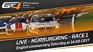 GT4 European series Northern cup - Nürburgring 2017 - Race 1 - Live