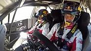 Sébastien Loeb teste la C3 WRC sur terre