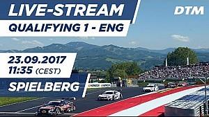 1. Yarış sıralama turları - DTM Spielberg 2017