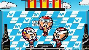El GP de Aragón 2017 de MotoGP según los 'MiniBikers'