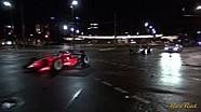 Parade mobil F1 di jalan raya Adelaide