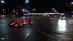 Onaangekondigde nachtelijke Formule 1-demo in straten Adelaide