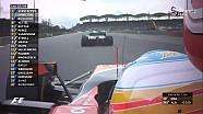 2017 Malezya GP - Alonso- Magnussen ve Massa- Ocon Çekişmeleri