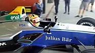 Tes Formula E Rio Haryanto - Keluar Garasi 2