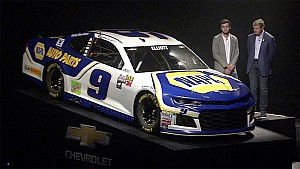 Back in the family: See the No. 9 back in Chase Elliott's hands