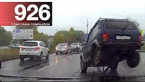 Recopilación de accidente de coche 926 - octubre de 2017