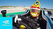 Rio Haryanto - Tes Formula E - Onboard