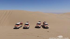 Los reconocimientos del Dakar 2018 en Perú
