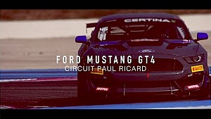 Ford Mustang GT4 - FFSA European series - Circuit Paul Ricard 2017