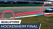 Drain cover causes restart of Qualifying 2 - DTM Hockenheim final 2017