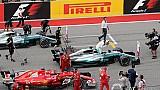 La parrilla de salida para la carrera del GP de Estados Unidos 2017 de F1