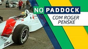 Roger Penske fala sobre teste de Ayrton Senna na Indy