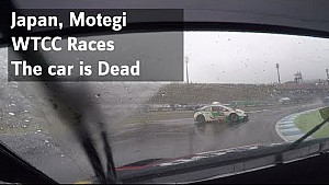 This car is dead; Japan WTCC races Coronel in Motegi, higlights Sunday