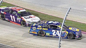 Chris Rice reacts to Chase Elliott, Denny Hamlin incident