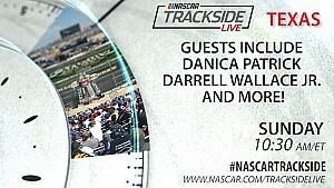 Watch: Nascar trackside live Sunday at Texas