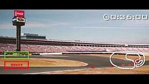 Onboard: NASCAR-Roval in Charlotte