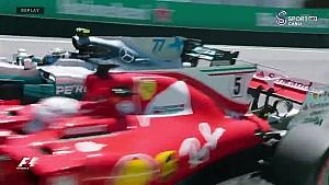 2017 Brezilya GP - Start tekrarı ve araç üstü görüntüler