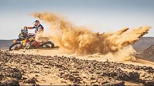 ¿Quién dijo que prepararse para el rally Dakar es agotador?