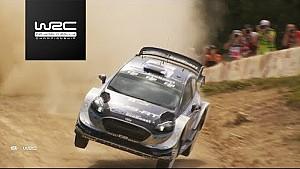 Rallye Australien: Highlights, Shakedown