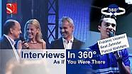 Interviews In 360°: Frédéric Vasseur, Beat Zehnder, Pascal Wehrlein - Sauber F1 Team @ Auto Zürich