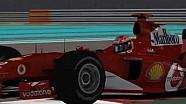 F2004 Abu Dhabi'de yarışsaydı ne kadar hızlı olurdu?