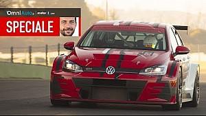 Volkswagen Golf GTI TCR | l'emozione di guidare una Golf da corsa
