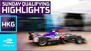 2017 HKT Hong Kong E-Prix Sunday Qualifying Highlights - Formula E