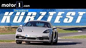 Motor1 Kurztest: Porsche 718 Cayman GTS