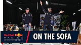 Verstappen en Ricciardo over 2017 op de Red Bull sofa