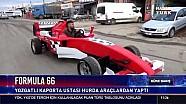 Yozgatlı ustadan yerli F1 aracı