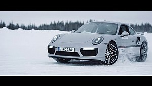 Porsche experience video series (1 of 3): Steve Booker tests the Porsche ice experience Finland
