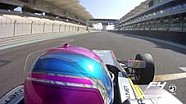 لفة مع لوغان هانا خلف مقود سيارة فورمولا 4