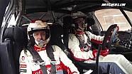 Craig Breen en essais pour le Rallye Monte-Carlo