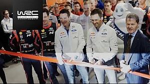 Le lancement du WRC 2018 à l'Autosport International