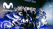 2018 Movistar Yamaha MotoGP team presentation - Highlights