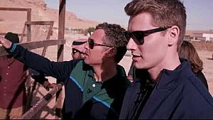 Kristensen y Newgarden descubren Riyadh