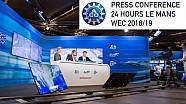 Live: Teilnehmer 24h Le Mans 2018 & WEC 2018/19