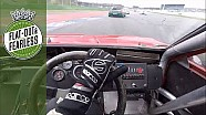 On board roaring V8 BMW M1
