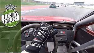 On board roaring V8 BMW M1